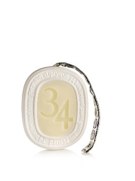 Diptyque 34 Boulevard St Germain Scented Oval small image