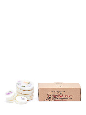Munio Wild Flowers Scented Soy Wax Rounds small image