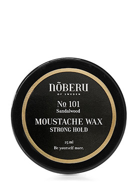 Noberu Sandalwood Moustache Wax Strong Hold small image